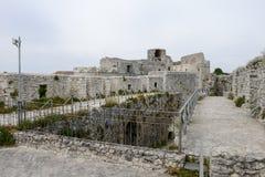 Castle Monte Sant'Angelo στην Πούλια Στοκ φωτογραφία με δικαίωμα ελεύθερης χρήσης