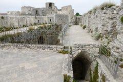 Castle Monte Sant'Angelo στην Πούλια Στοκ εικόνες με δικαίωμα ελεύθερης χρήσης