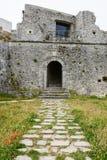 Castle Monte Sant'Angelo στην Πούλια Στοκ φωτογραφίες με δικαίωμα ελεύθερης χρήσης