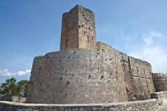 Castle of Monte Sant'Angelo. Puglia. Italy. Royalty Free Stock Photography