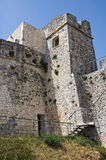 Castle of Monte Sant'Angelo. Puglia. Italy. Royalty Free Stock Photos