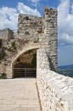 Castle of Monte Sant'Angelo. Puglia. Italy. Stock Photo