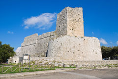Castle of Monte Sant'Angelo. Puglia. Italy. Royalty Free Stock Photo
