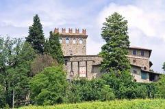 Castle of Montechiaro. Emilia-Romagna. Italy. Stock Image