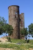 Castle of Montemor-o-Novo Stock Photography
