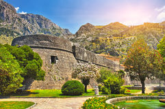 Castle in Montenegro Royalty Free Stock Photography