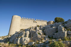Castle of Montgri Stock Photos