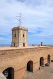 Castle of Montjuic, Barcelona Royalty Free Stock Photo