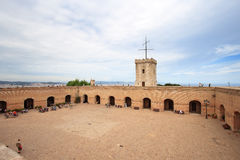 Castle of Montjuic, Barcelona Royalty Free Stock Images