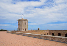 Castle of Montjuic, Barcelona Royalty Free Stock Photography