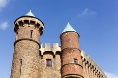 Castle of Montmelas in Beaujolais Royalty Free Stock Photos