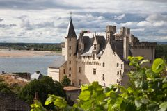 Castle Montsoreau in France Royalty Free Stock Photo