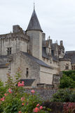 Castle of Montsoreau in Loire Valley Royalty Free Stock Image