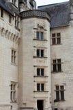 Castle of Montsoreau in Loire Valley Stock Photos