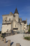 Castle of Montsoreau Stock Images