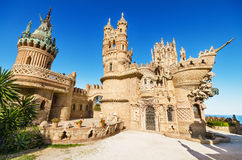Castle monument of Colomares on April 28, 2014 Royalty Free Stock Image