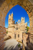 Castle monument of Colomares on April 28, 2014. BENALMADENA, SPAIN - APRIL 28: Castle monument of Colomares on April 28, 2014. Is a monument honoring Cristopher Stock Image