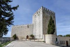 Castle Monzon de Campos Lizenzfreies Stockfoto