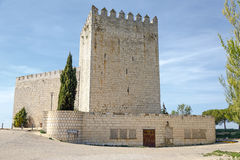 Castle Monzon de Campos Royalty Free Stock Images