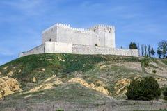 Castle Monzon de Campos Stock Image
