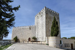 Castle Monzon de Campos. In Palencia, Spain Royalty Free Stock Photo