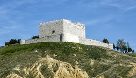 Castle Monzon de Campos. In Palencia, Spain Stock Photo