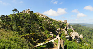 Castle of the Moors royalty free stock photos