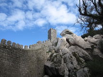 Castle of the Moors Royalty Free Stock Photography