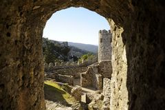 The Castle of the Moors Stock Images