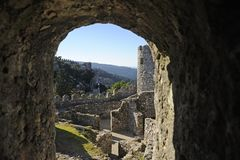 The Castle of the Moors Royalty Free Stock Photography