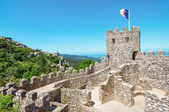 Castle of  Moors Royalty Free Stock Photos