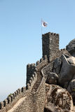 Castle of the Moors in Sintra Stock Photo