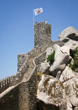 Castle of the Moors in Sintra Royalty Free Stock Image