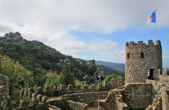 Castle of the Moors Royalty Free Stock Images
