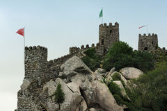 The Castle of the Moors, Sintra, Portugal Stock Photography