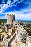 Castle of the Moors, Sintra, Portugal Royalty Free Stock Image