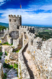 Castle of the Moors, Sintra, Portugal Stock Photo
