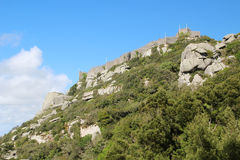 The Castle of the Moors, Sintra, Portugal Stock Photos