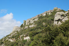 The Castle of the Moors, Sintra, Portugal Stock Photo