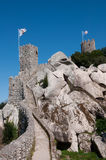 The Castle of the Moors, Sintra, Portugal. Royalty Free Stock Photos