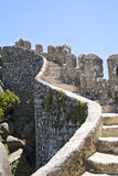 Castle of the Moors in Sintra Stock Photography