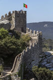 Castle of the Moors - Sintra - Portugal Royalty Free Stock Images