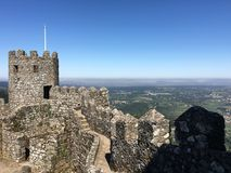 Castle of the Moors Stock Photos