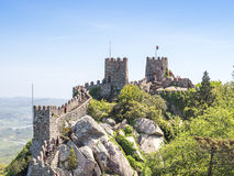 The Castle of the Moors Royalty Free Stock Photo