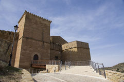 Castle of Mora in Spain Stock Image