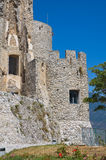 Castle of Morano Calabro. Calabria. Italy. Royalty Free Stock Images