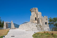 Castle of Morano Calabro. Calabria. Italy. Royalty Free Stock Photo