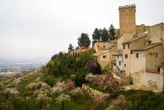 Castle at Moratalla, Valencia y Murcia, Spain Royalty Free Stock Photo