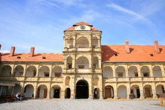 Castle in Moravska Trebova, Czech Republic Royalty Free Stock Photo