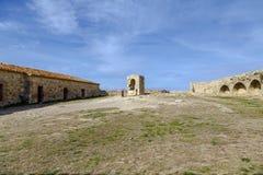 Castle of Morella, in Castellon, Spain Stock Images